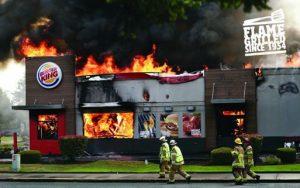 Burger King app burns opposition