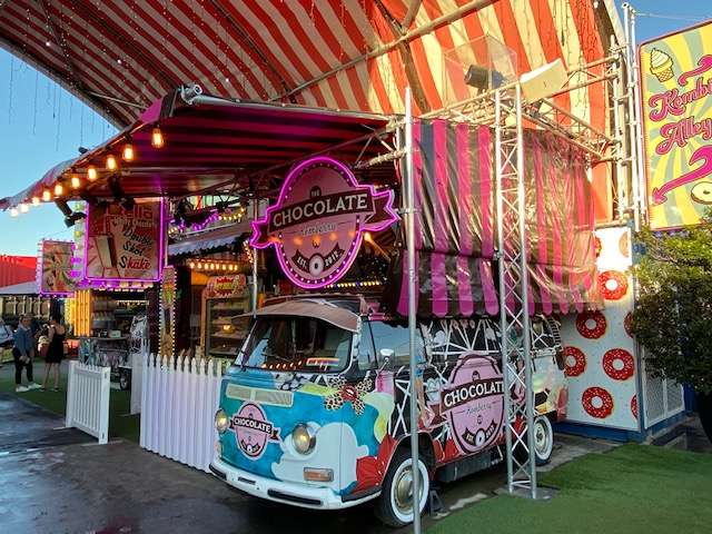 Kombi Alley is the home of desserts and indulgence at Eat Street