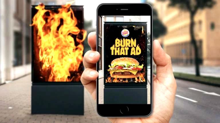 Burger King Burning Opposition