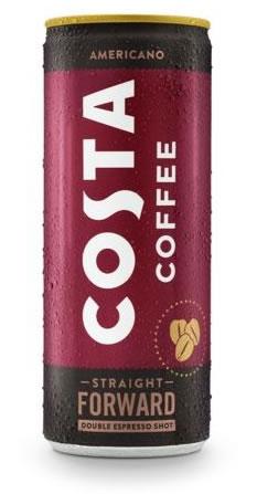 Cool Costa Coffee - Americano in a Can