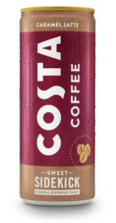 Cool Costa Caramel Latte In A Can