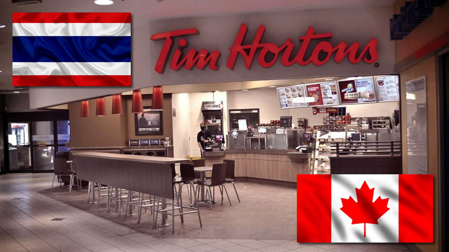 Tim Hortons comes to Thailand